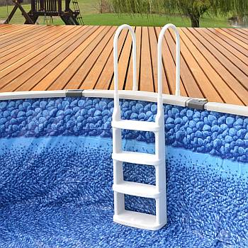 Easy Incline Pool Deck Ladder